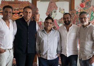 Madhu Mantena Ramayana with Allu Aravind Namit Malhotra
